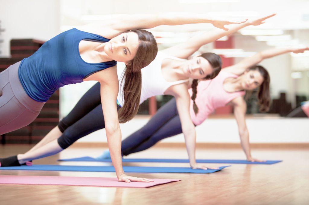 Yoga & Fly class
