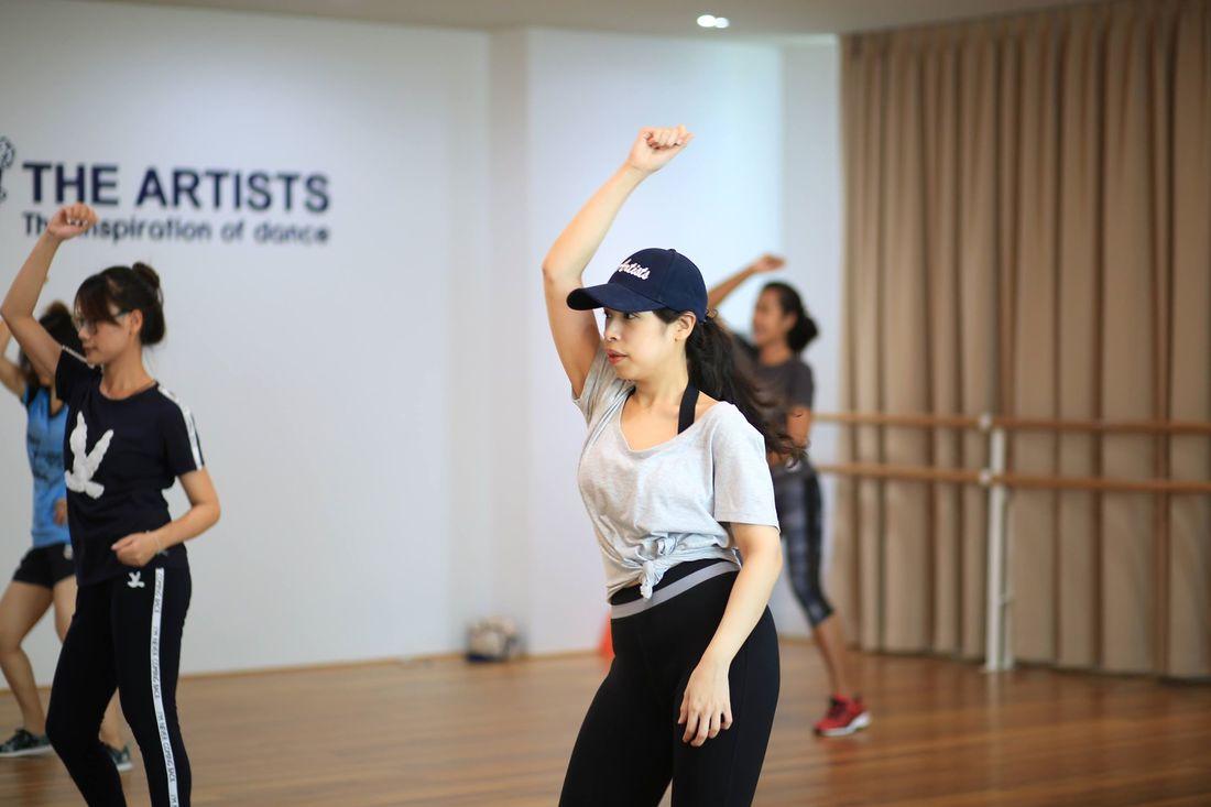 บรรยากาศการเรียนเต้น 2