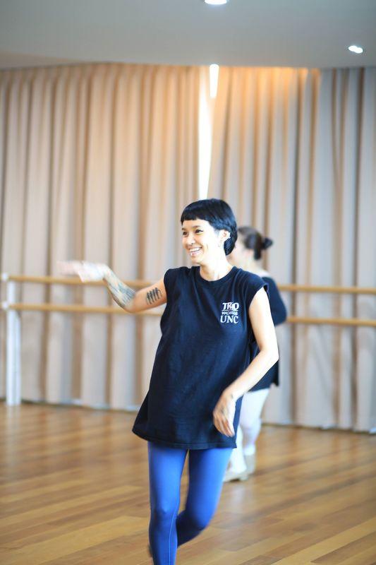 บรรยากาศการเรียนเต้น 1